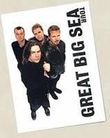 Great Big Sea tour poster