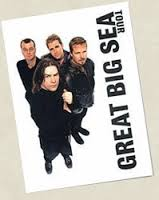 Great Big Sea tour poster