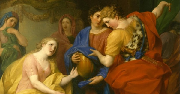 A painting depicting the return of Orestes