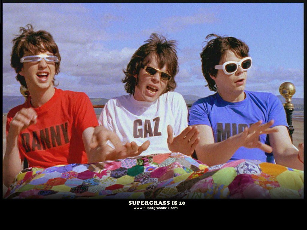 """Supergrass: A still from the video for """"Feel Alright."""""""